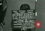 Image of IG Farben Trial Nuremberg Germany, 1947, second 8 stock footage video 65675021227
