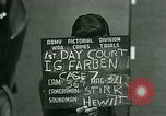 Image of IG Farben Trial Nuremberg Germany, 1947, second 10 stock footage video 65675021227