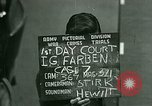 Image of IG Farben Trial Nuremberg Germany, 1947, second 11 stock footage video 65675021227