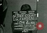 Image of IG Farben Trial Nuremberg Germany, 1947, second 12 stock footage video 65675021227