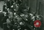Image of Otto Ohlendorf plea war crimes trial Nuremberg Germany, 1948, second 2 stock footage video 65675021233