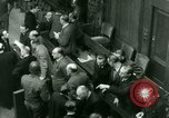 Image of Otto Ohlendorf plea war crimes trial Nuremberg Germany, 1948, second 9 stock footage video 65675021233