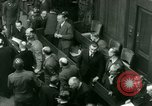 Image of Otto Ohlendorf plea war crimes trial Nuremberg Germany, 1948, second 11 stock footage video 65675021233