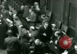 Image of Otto Ohlendorf plea war crimes trial Nuremberg Germany, 1948, second 12 stock footage video 65675021233