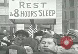 Image of American workers protest labor conditions United States USA, 1963, second 5 stock footage video 65675021237
