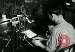 Image of printing press Berea Kentucky United States USA, 1933, second 10 stock footage video 65675021253