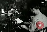 Image of printing press Berea Kentucky United States USA, 1933, second 12 stock footage video 65675021253