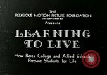 Image of Opportunity Schools Berea Kentucky United States USA, 1933, second 5 stock footage video 65675021268