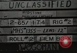Image of Redstone Mercury Cape Canaveral Florida USA, 1961, second 1 stock footage video 65675021389