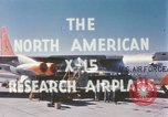 Image of X-15 first flight California United States USA, 1959, second 4 stock footage video 65675021399