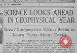 Image of Geophysical Year New York United States USA, 1958, second 7 stock footage video 65675021414