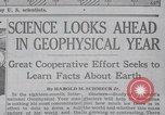 Image of Geophysical Year New York United States USA, 1958, second 10 stock footage video 65675021414