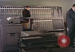 Image of computer consoles United States USA, 1958, second 12 stock footage video 65675021441