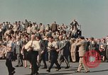 Image of X-15 rollout ceremony California United States USA, 1958, second 11 stock footage video 65675021475