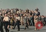 Image of X-15 rollout ceremony California United States USA, 1958, second 12 stock footage video 65675021475