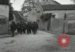 Image of 4th Infantry troops Romney France, 1918, second 2 stock footage video 65675021483