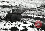 Image of US Army soldiers prepare for gas attack in World War 1 trench France, 1918, second 1 stock footage video 65675021500