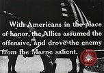 Image of Marne Operation France, 1918, second 8 stock footage video 65675021521