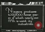 Image of Niagara Falls Canada, 1921, second 11 stock footage video 65675021524