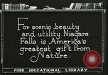 Image of Niagara Falls United States USA, 1921, second 7 stock footage video 65675021527