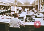 Image of Use of early computers in newspaper production Detroit Michigan USA, 1974, second 7 stock footage video 65675021551