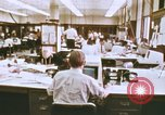 Image of Use of early computers in newspaper production Detroit Michigan USA, 1974, second 8 stock footage video 65675021551
