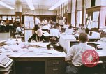 Image of Use of early computers in newspaper production Detroit Michigan USA, 1974, second 11 stock footage video 65675021551