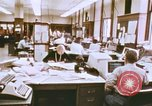 Image of Use of early computers in newspaper production Detroit Michigan USA, 1974, second 12 stock footage video 65675021551