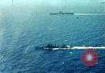 Image of USS Yorktown day before attacking Marcus Island Pacific Ocean, 1943, second 2 stock footage video 65675021556