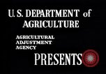 Image of American agriculture United States USA, 1941, second 4 stock footage video 65675021568