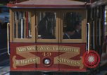 Image of trolleys San Francisco California USA, 1968, second 5 stock footage video 65675021684