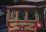 Image of trolleys San Francisco California USA, 1968, second 6 stock footage video 65675021684