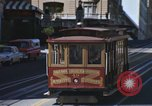 Image of trolleys San Francisco California USA, 1968, second 7 stock footage video 65675021684