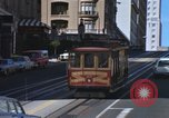 Image of trolleys San Francisco California USA, 1968, second 8 stock footage video 65675021684