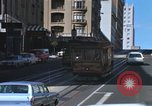 Image of trolleys San Francisco California USA, 1968, second 9 stock footage video 65675021684