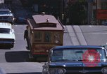 Image of trolleys San Francisco California USA, 1968, second 6 stock footage video 65675021685