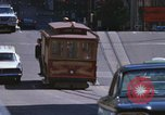 Image of trolleys San Francisco California USA, 1968, second 7 stock footage video 65675021685