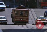 Image of trolleys San Francisco California USA, 1968, second 8 stock footage video 65675021685