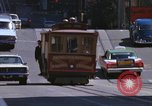Image of trolleys San Francisco California USA, 1968, second 9 stock footage video 65675021685