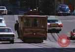 Image of trolleys San Francisco California USA, 1968, second 10 stock footage video 65675021685