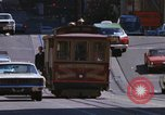 Image of trolleys San Francisco California USA, 1968, second 11 stock footage video 65675021685