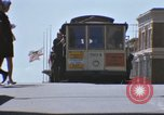 Image of trolleys San Francisco California USA, 1968, second 4 stock footage video 65675021687