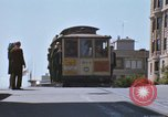 Image of trolleys San Francisco California USA, 1968, second 11 stock footage video 65675021687