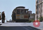 Image of trolleys San Francisco California USA, 1968, second 12 stock footage video 65675021687