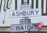 Image of Haught-Ashbury hippies San Francisco California USA, 1968, second 2 stock footage video 65675021691