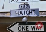 Image of Haught-Ashbury hippies San Francisco California USA, 1968, second 6 stock footage video 65675021691