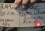 Image of Vietnamese Special Forces Vietnam, 1970, second 4 stock footage video 65675021713