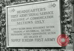 Image of First Army Signal Service message coding and decoding France, 1944, second 4 stock footage video 65675021725