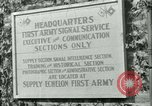 Image of First Army Signal Service message coding and decoding France, 1944, second 5 stock footage video 65675021725