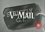 Image of V-mail United States USA, 1943, second 4 stock footage video 65675021760